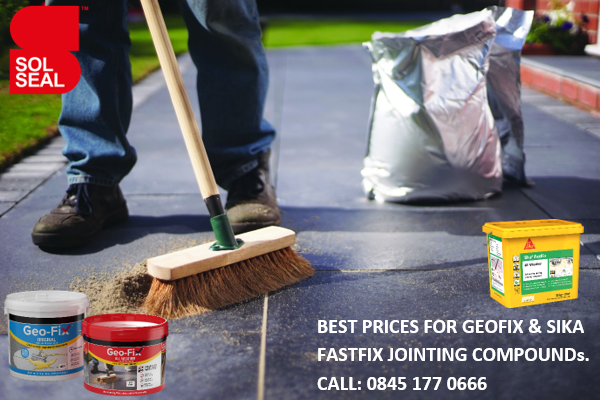 Solseal is the UK's leading distributor of patio jointing compounds, focussing mainly on the Geofix and Sika Fastfix range.