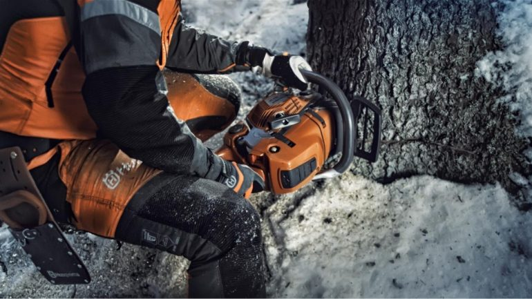 HUSQVARNA® PRESENTS WINTER TIPS FOR CHAINSAW USERS