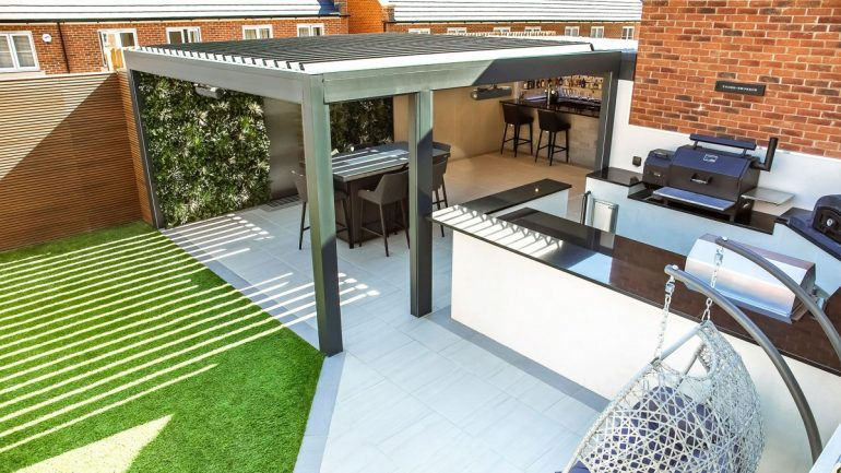 Outdoor Living Pod™ installation