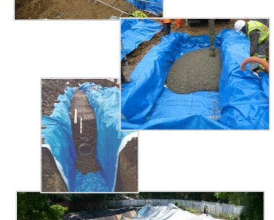 Protect against damage from tree roots, Japanese Knotweed and other invasive plant species