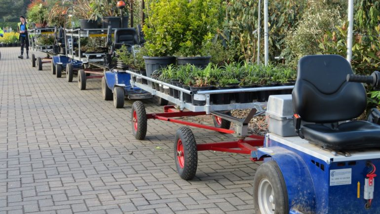 Provender Nurseries purchases new electric buggies to deal with extra order volume