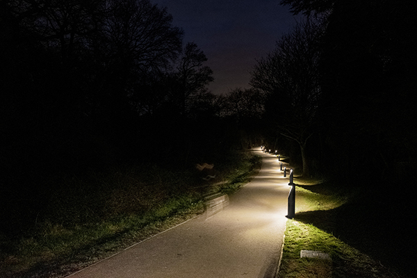 Thorn's Urba bollards lead the way at Coed Melyn Park