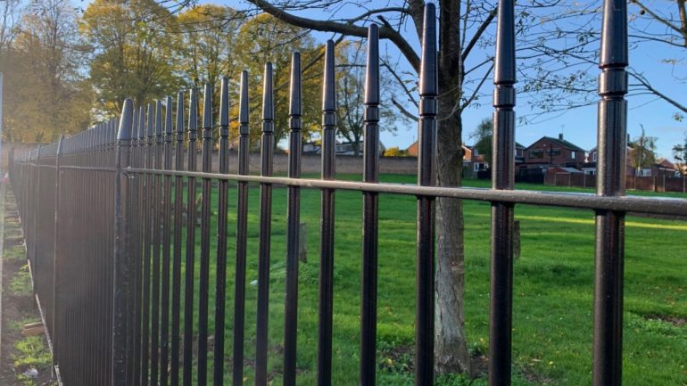 Albany Railings supplied as part of local cemetery extension