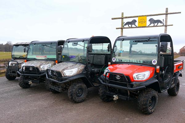 Rugged versatility for demanding grounds maintenance tasks– the RTV-X utility vehicle