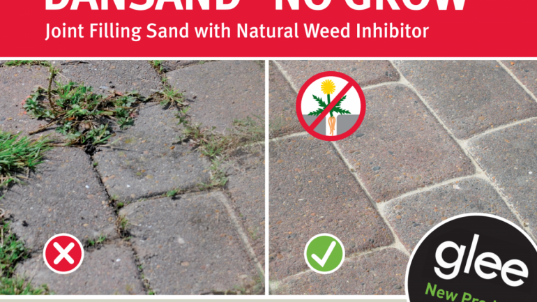 DANSAND® NO GROW™ Joint Filling Sand with Natural Weed Inhibitor